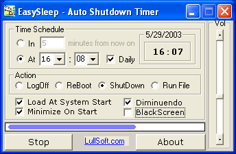 Auto Shutdown Timer Software